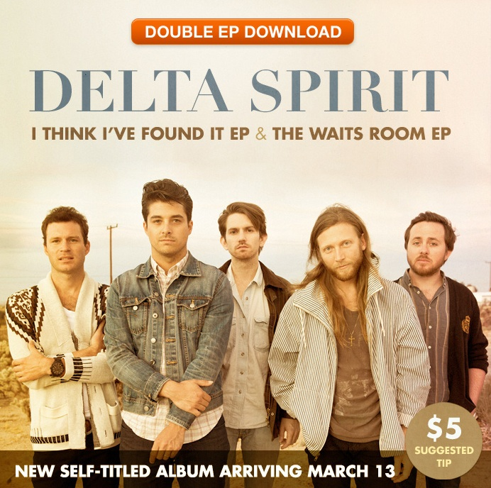 Free EPs from The Delta Spirit.