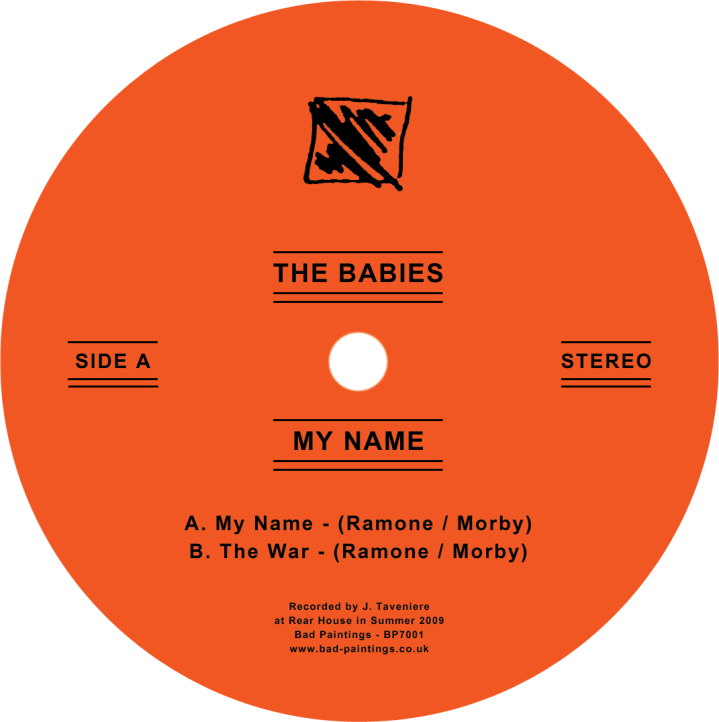 The Babies Record Store Day Single.