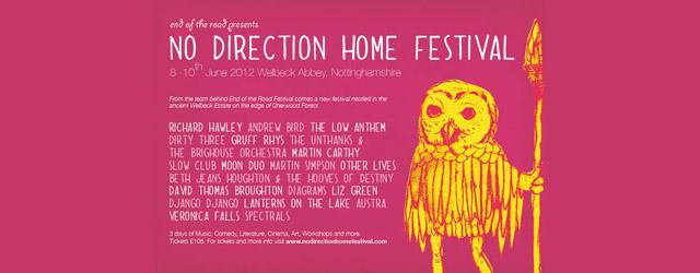 No Direction Home Festival: Free Mixtape.