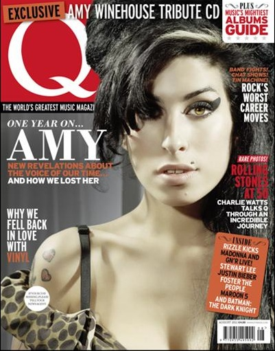 Q Magazine's Free Amy Winehouse Tribute Cover Disk.