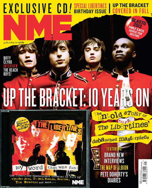 NME's Free Libertine's Cover Disk.