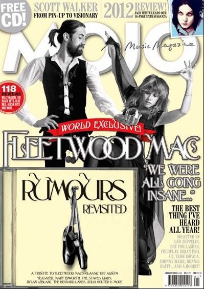 Mojo's Free Cover Disc - Fleetwood Mac's Rumours Revisited.