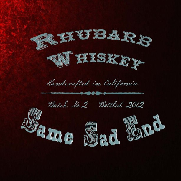 New Album From Rhubarb Whiskey