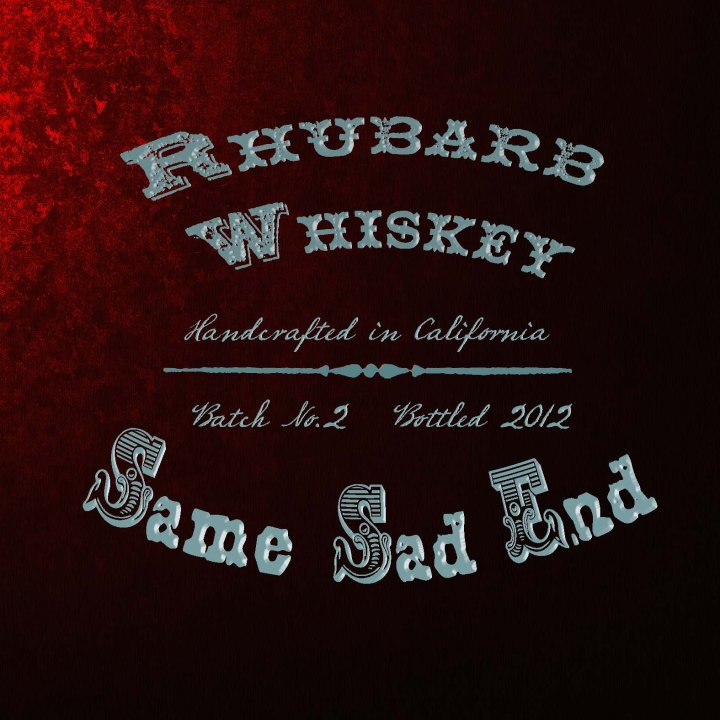 New Album From Rhubarb Whiskey