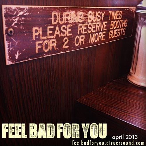 April's Feel Bad For You Mixtape