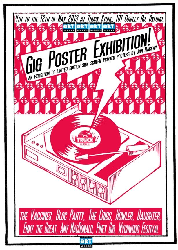 Jon Mackay Poster Exhibition