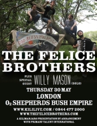 felice brothers poster