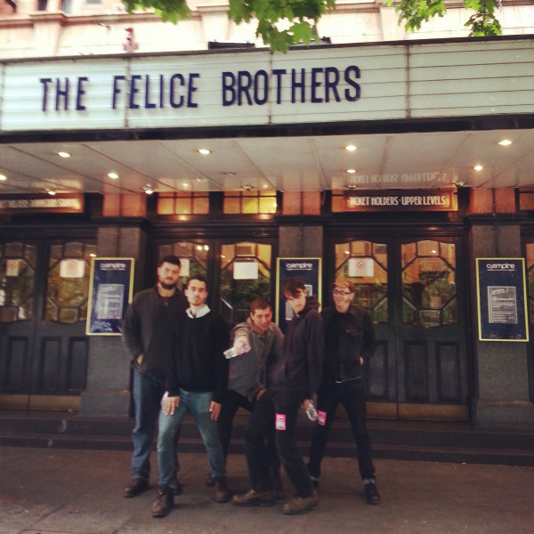 Felice Brothers Live Review