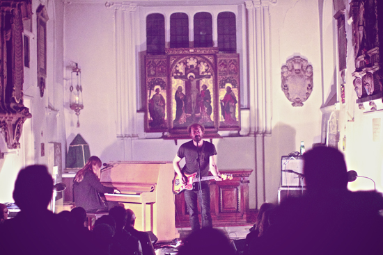 Phosphorescent at St. Pancras Church by Darius Van Arman